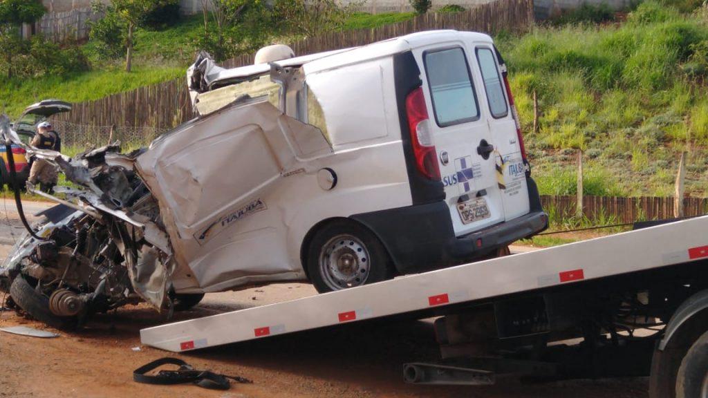 Motorista de ambulância morre em acidente na BR-459 - Foto: redes sociais